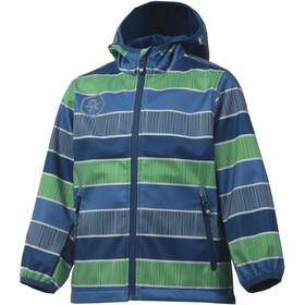 Color Kids Tadimir AOP Chaqueta Softshell Niños, jeans blue